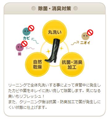 美靴パックの除菌・消臭対策のイメージ