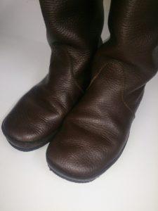 美靴パック_クリーニング後のブーツの写真