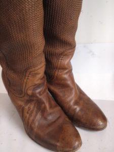 美靴パック_クリーニング後のブーツ