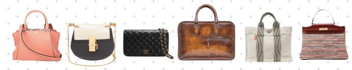 リナビスのバッグ(鞄)クリーニングの対象となるアイテムのイメージ画像