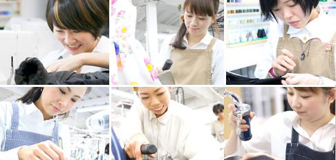 キレイナの技術スタッフたちの写真